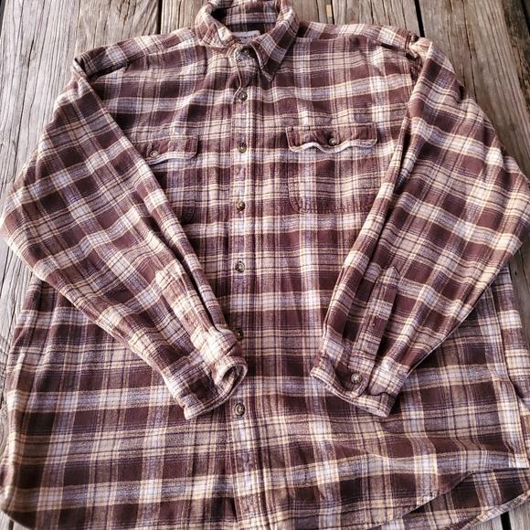 Carhartt Other - Carhartt Plaid Cotton Button up 2XL